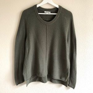 Madewell Olive Green Knit Sweater